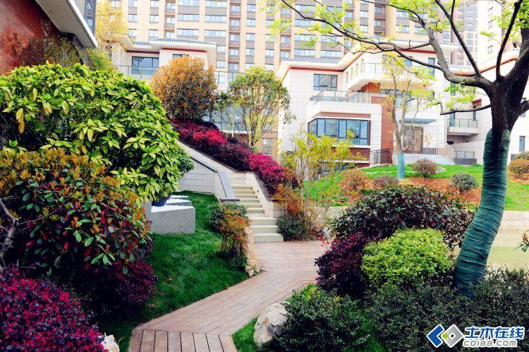 <草月流景观>庭院设计中地形高差的处理方式图片http://bbsfile