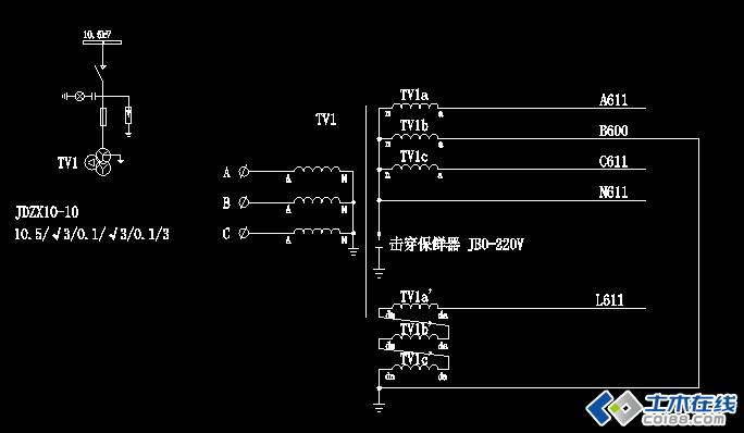 发电机中性点电流互感器