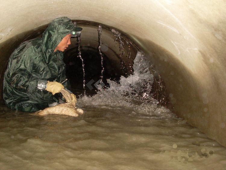 石博士隧道地铁地下室地下结构工程突发涌水堵漏之吐血经验