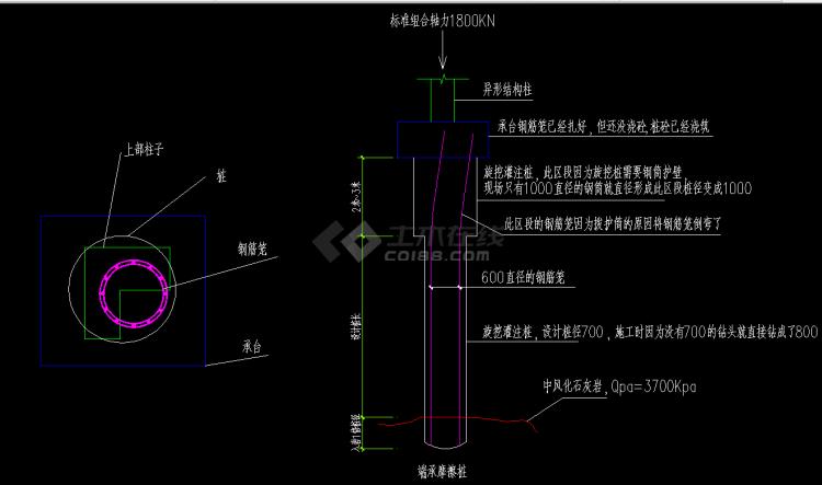 旋挖钻孔灌注桩施工记录设计专题简介
