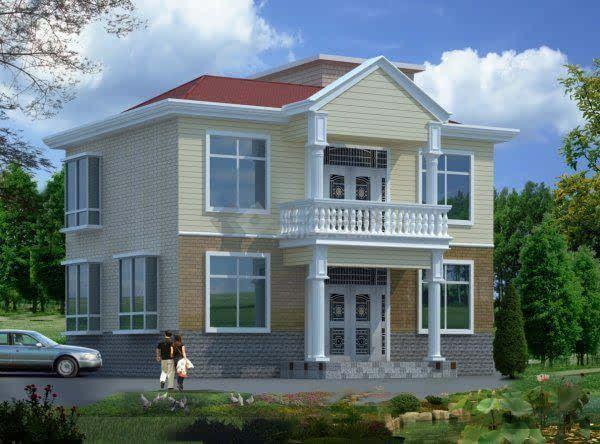 2016农村外墙砖效果图-杉树棱子 2600元   水电安装 4000元   地板砖 外墙砖 梯步砖 窗台