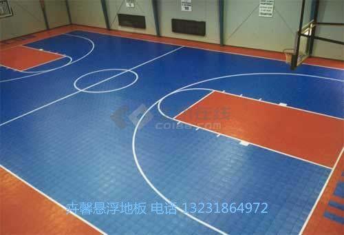 广州悬浮式拼装运动地板