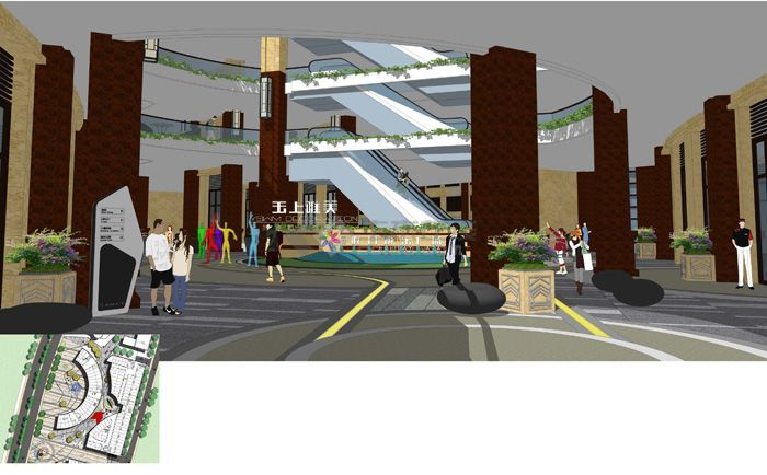 云龙欢乐假日商业广场景观设计13.jpg
