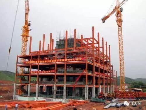 装配式钢结构,木结构 > 钢结构安装教科书式教学  屋架安装应在柱子
