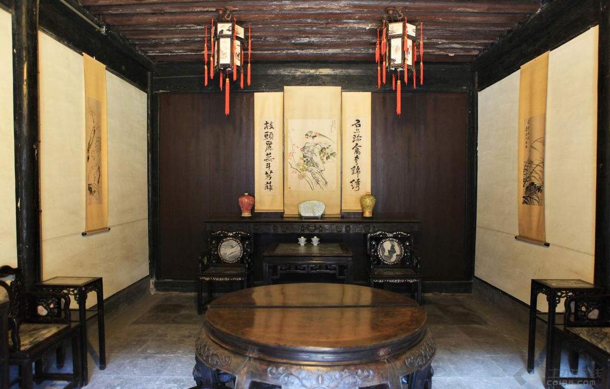 绍兴中式设计│中堂的摆放风水