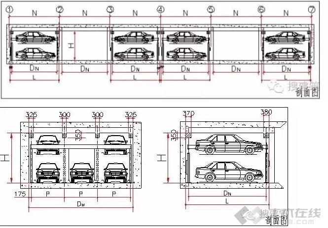 【调出墙体】万科3种菜单v墙体的解决方案绘制学院如何建筑车库栏图片