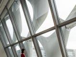 首尔纺织名企 Kolon办公楼,高技术材料编织节能表皮 / Morphosis_图3