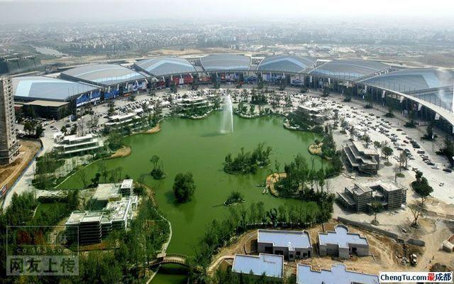 媲美巴比伦的空中花园 成都世纪城 天鹅湖花园