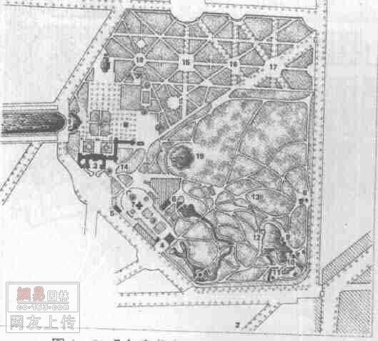 (国内&国外)--知名古典园林平面图