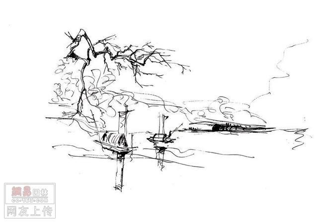 以下是余工的一些建筑风景写生