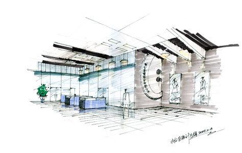 香港東丹服飾有限公司辦公空間方案設計