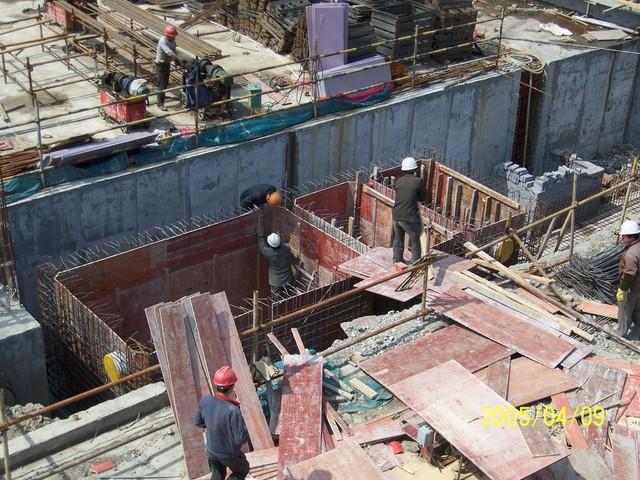 钢筋混凝土化粪池施工照片