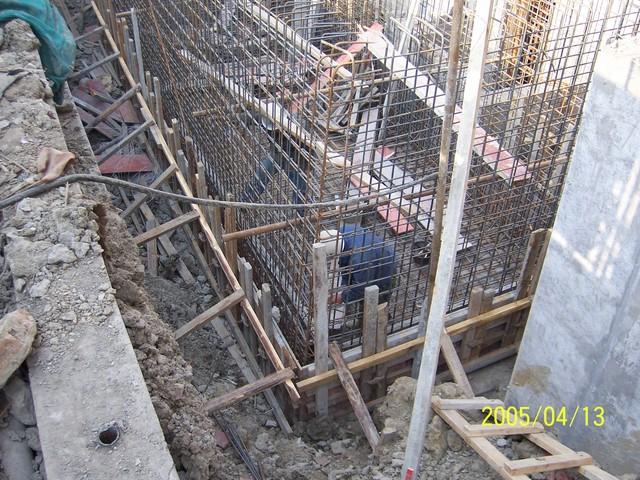 钢筋混凝土化粪池施工照片 土木在线论坛