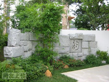 主题 高档住宅小区入口大门景观设计施工