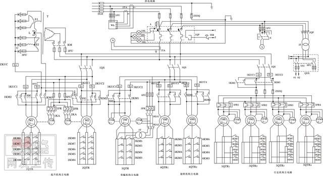 天车控制电路中的调速电阻工作原理是什么呀?