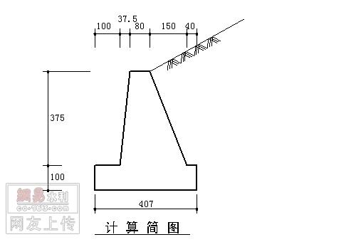 重力式挡土墙设计计算-土木在线论坛