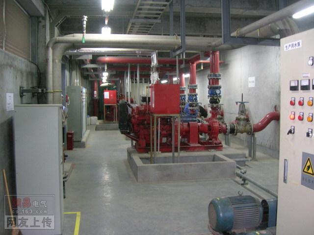 消防喷淋泵及管道安装