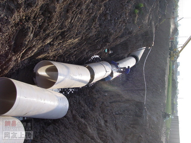 upvc大口径双层中空螺旋缠绕排水管排水领域的新宠