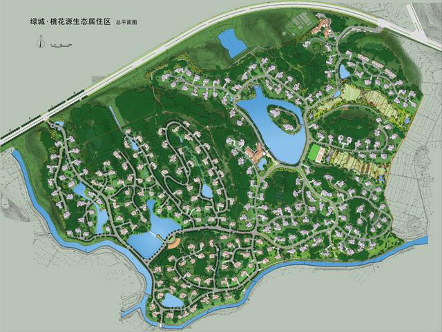 经典园林景观平面和立面效果图 土木在线论坛