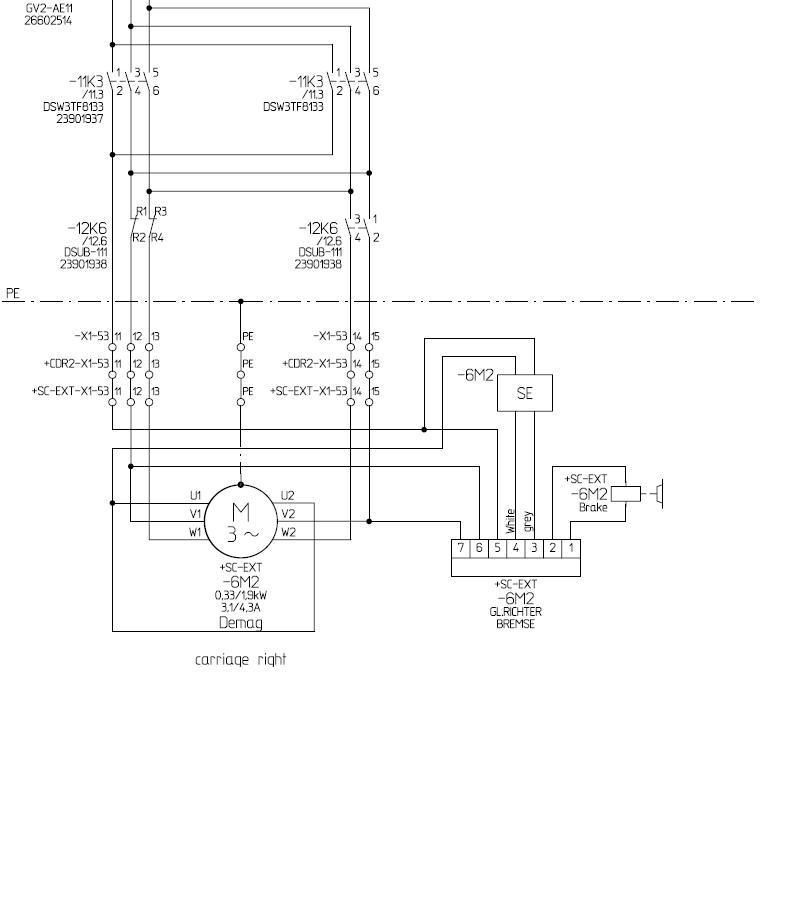 双联接触器-11k3的两个线圈具有互锁的功能,用来控制电机正反转来