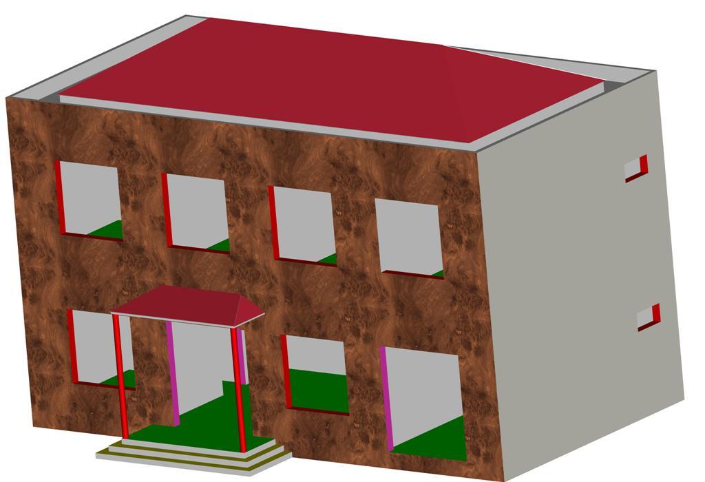 农户的房屋设计 北方房屋 建筑图纸 房屋设计图纸
