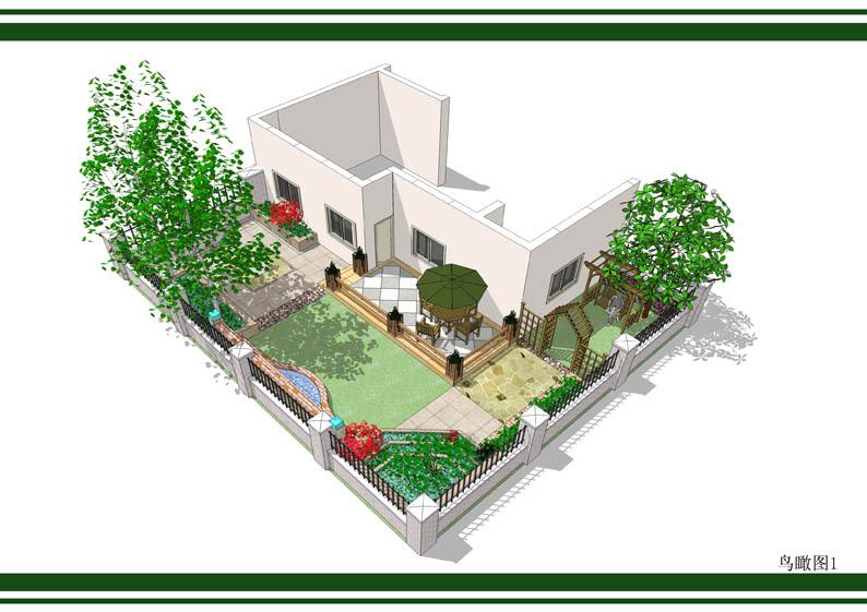 整理的一些屋顶花园效果图 实景图及平面图 土木在线论坛高清图片