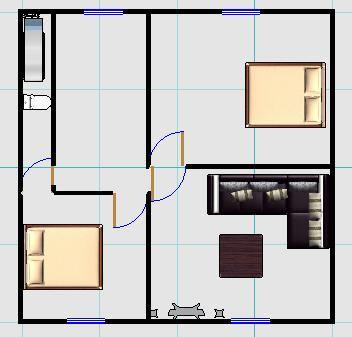 唉,我家房子,夏天像蒸笼,冬天像冰箱,求改进的装修设计图