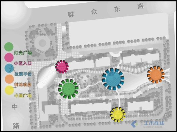ps景观平面剖面图_节点设计图设计院国内图片