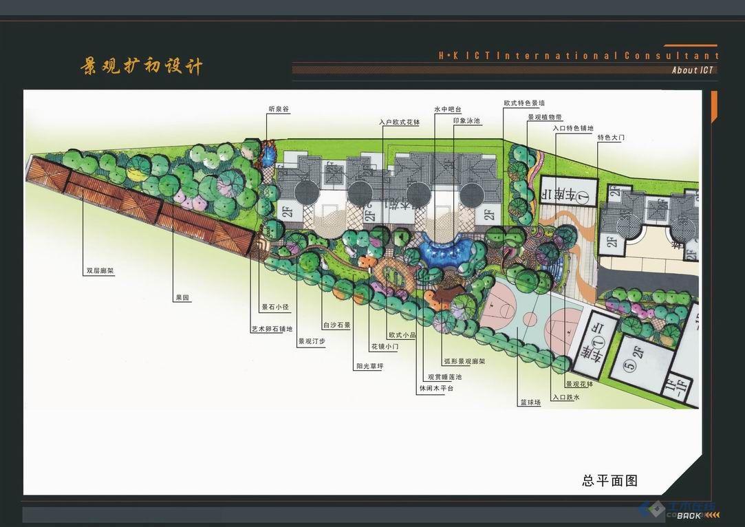手绘设计工作室   【分享】极品的手绘园林平面立面植物素材