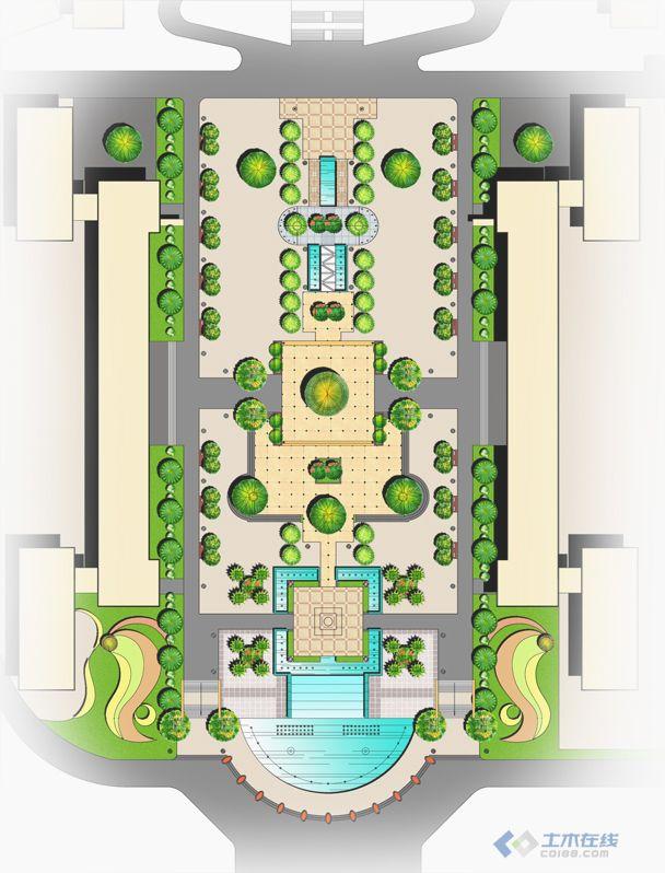 作品 校园广场景观设计 布局.jpg
