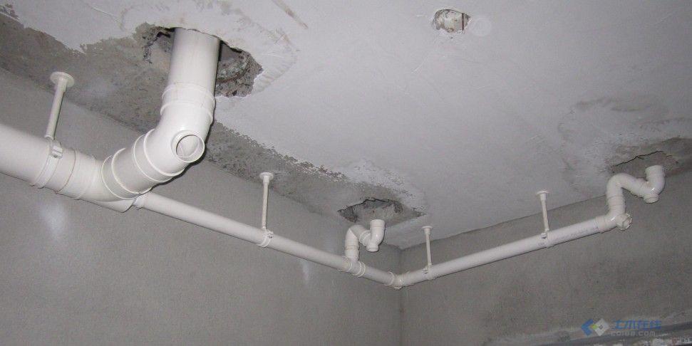 图片分享:卫生间排水管安装