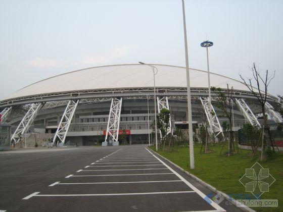 南通体育会展中心体育场工程