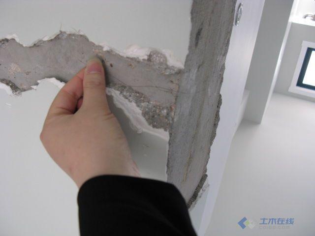 装修好的房子,大梁出现u字形裂缝,是大梁断了吗 土木在线论