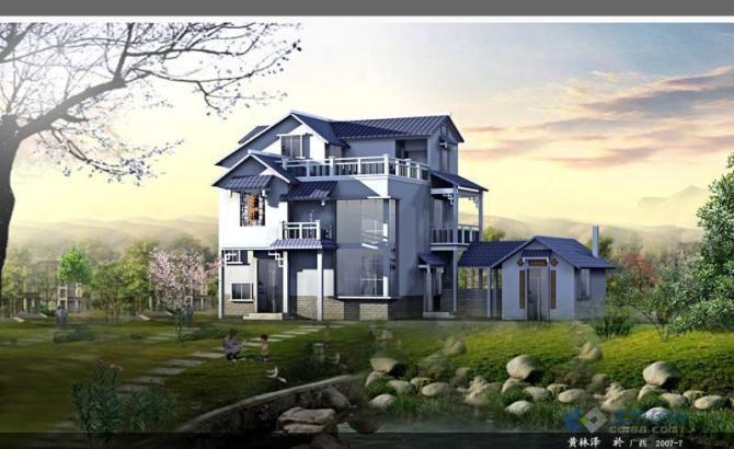 新农村 改造 别墅 实拍效果及户型