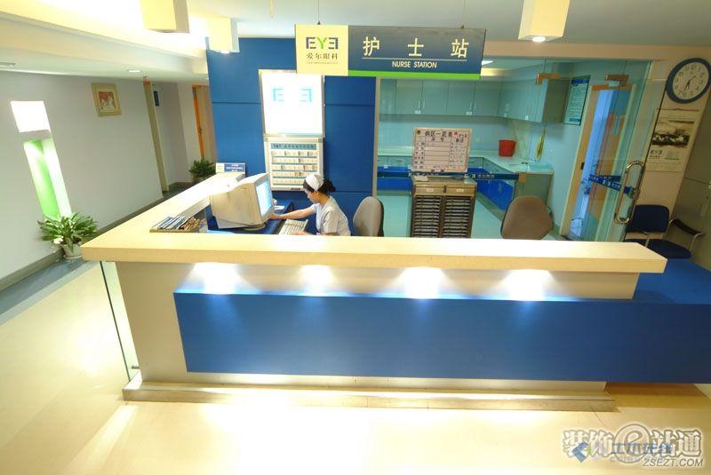 医院护士站效果图.jpg高清图片