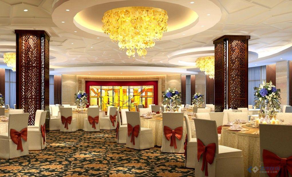 宾馆一层大厅 咖啡厅装修设计全套图纸
