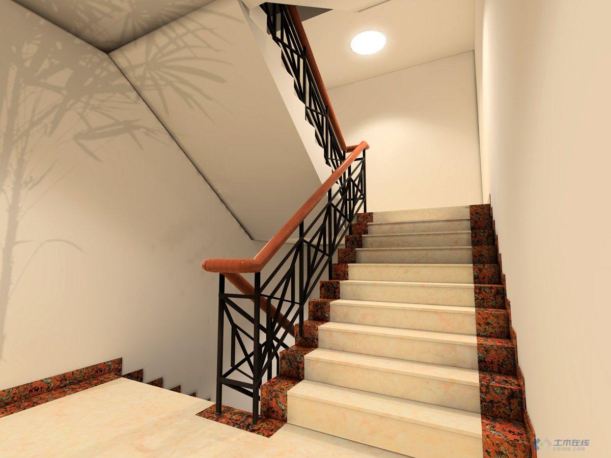 经典 公司办公楼室内装修效果图及施工图 土木在线论坛