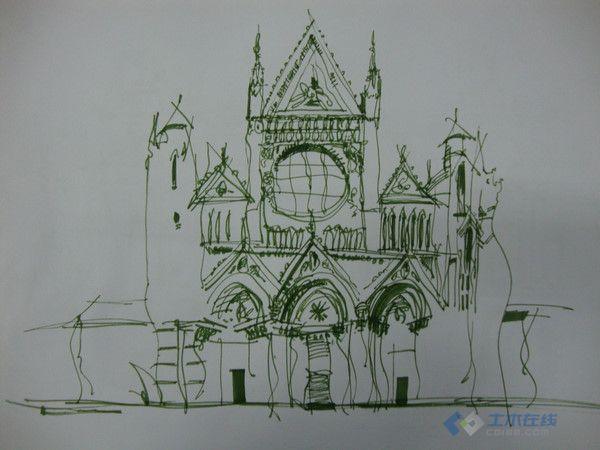 2近期手绘练习,求建筑学快速表现材料
