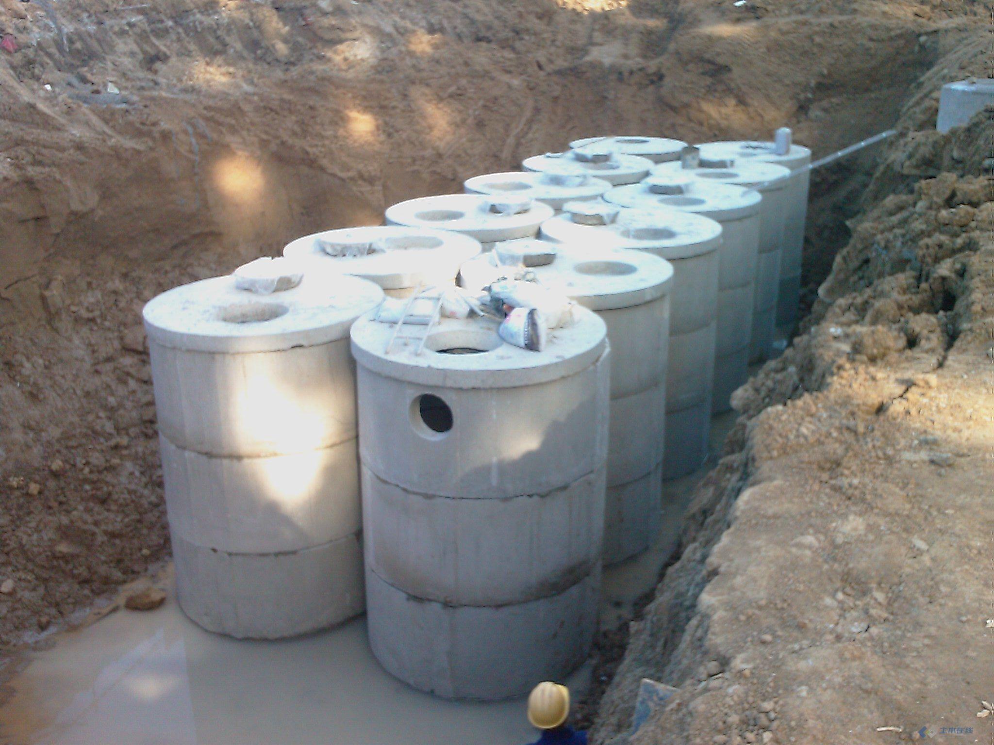 混凝土成品化粪池施工图 土木在线论坛