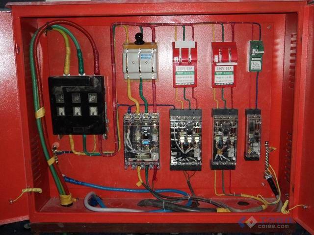 一级配电箱接线图