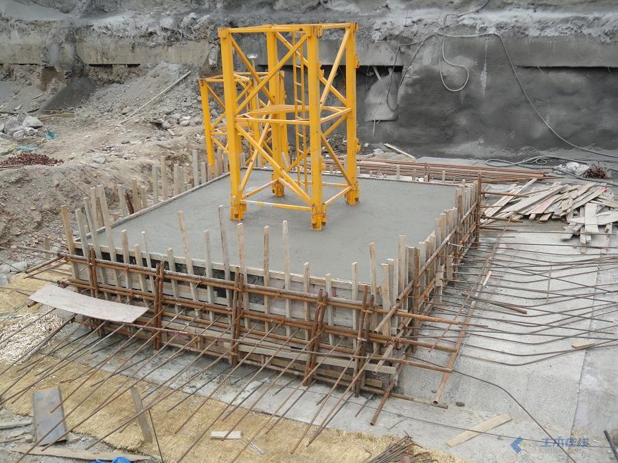【塔吊基础施工方案测量放线及土方开挖】