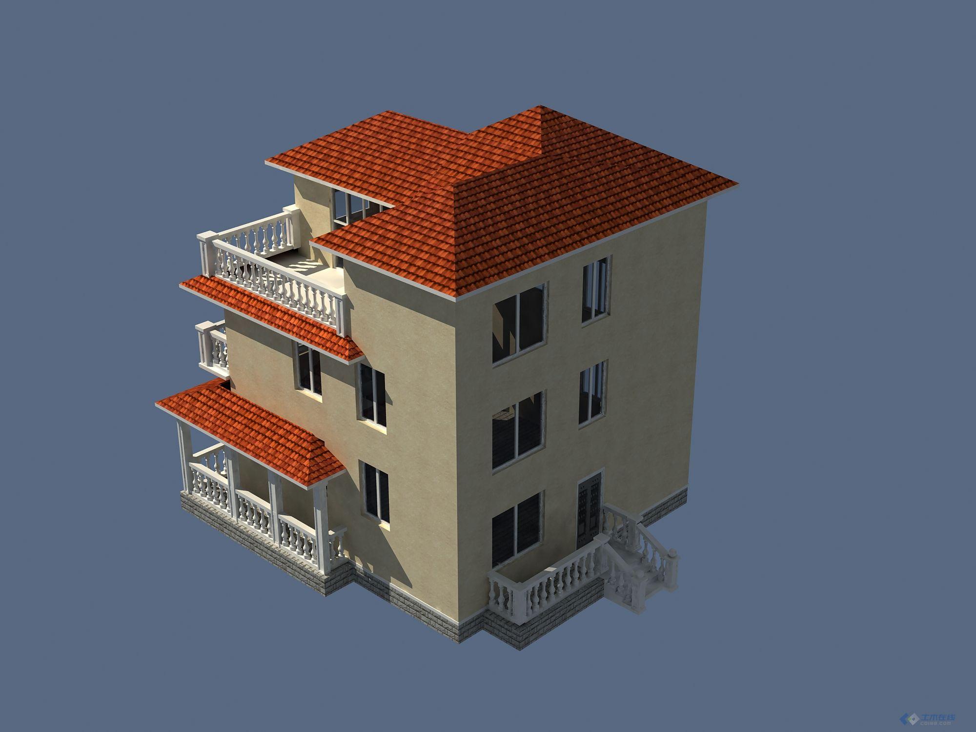 农村住房设计效果图设计专题简介