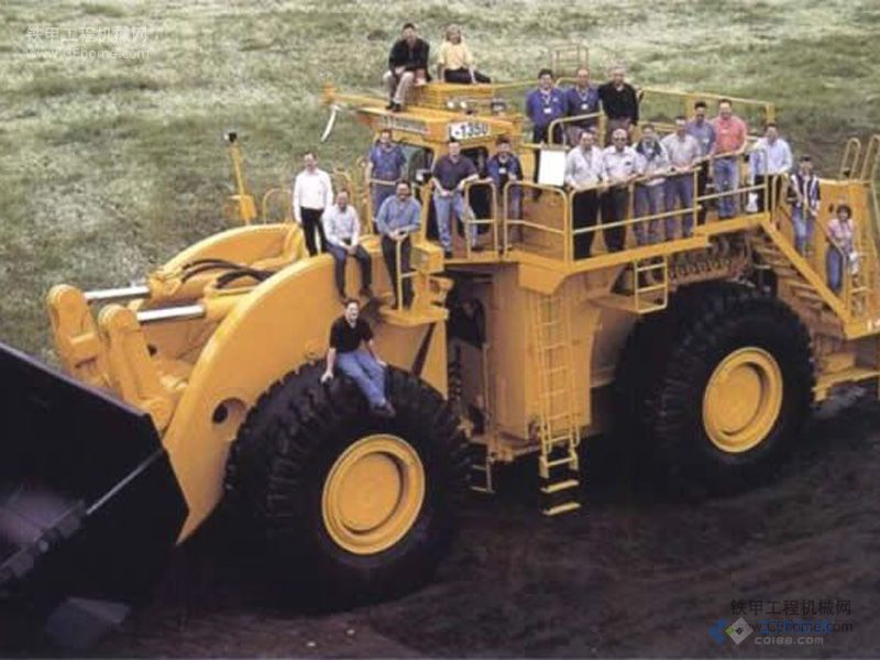 世界上最大的轮式装载机