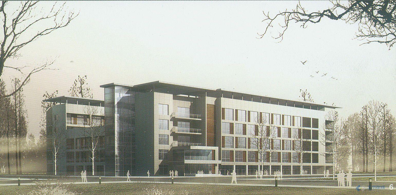 六层办公楼效果图 土木在线论坛
