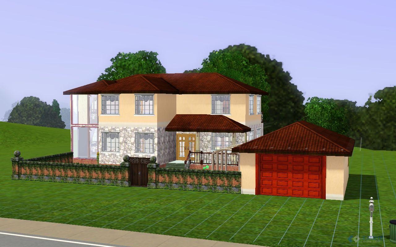 農村梯形房子建筑設計圖展示