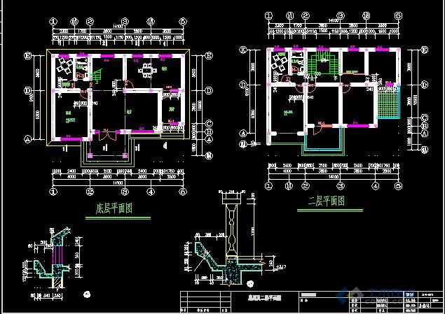 农村小别墅设计图