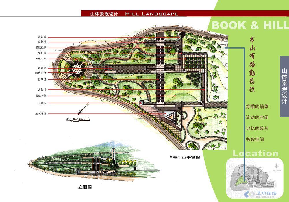 学校景观规划效果图集