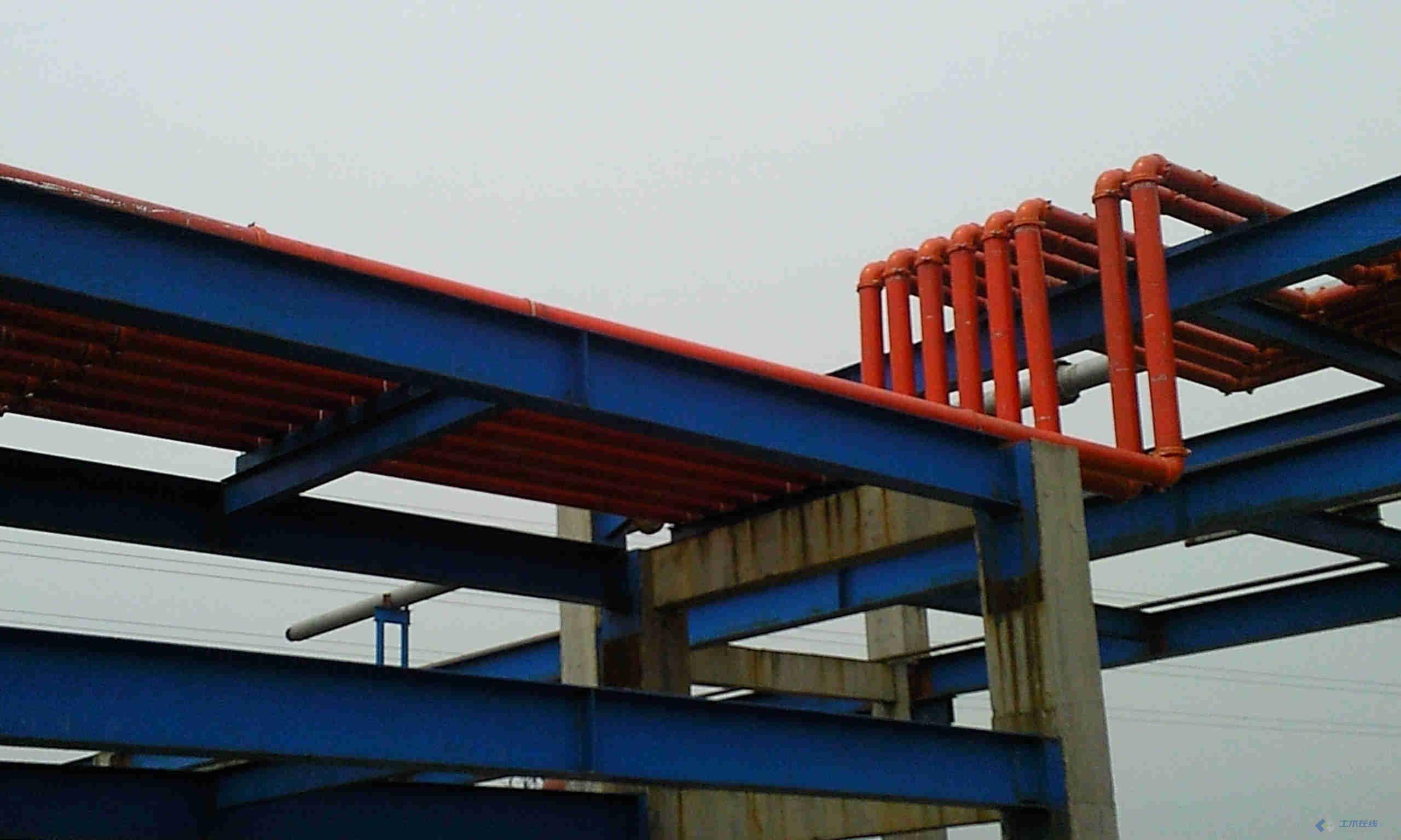 管道图 室外消火栓图 外管架雨淋消防管道图高手来评价一下高清图片