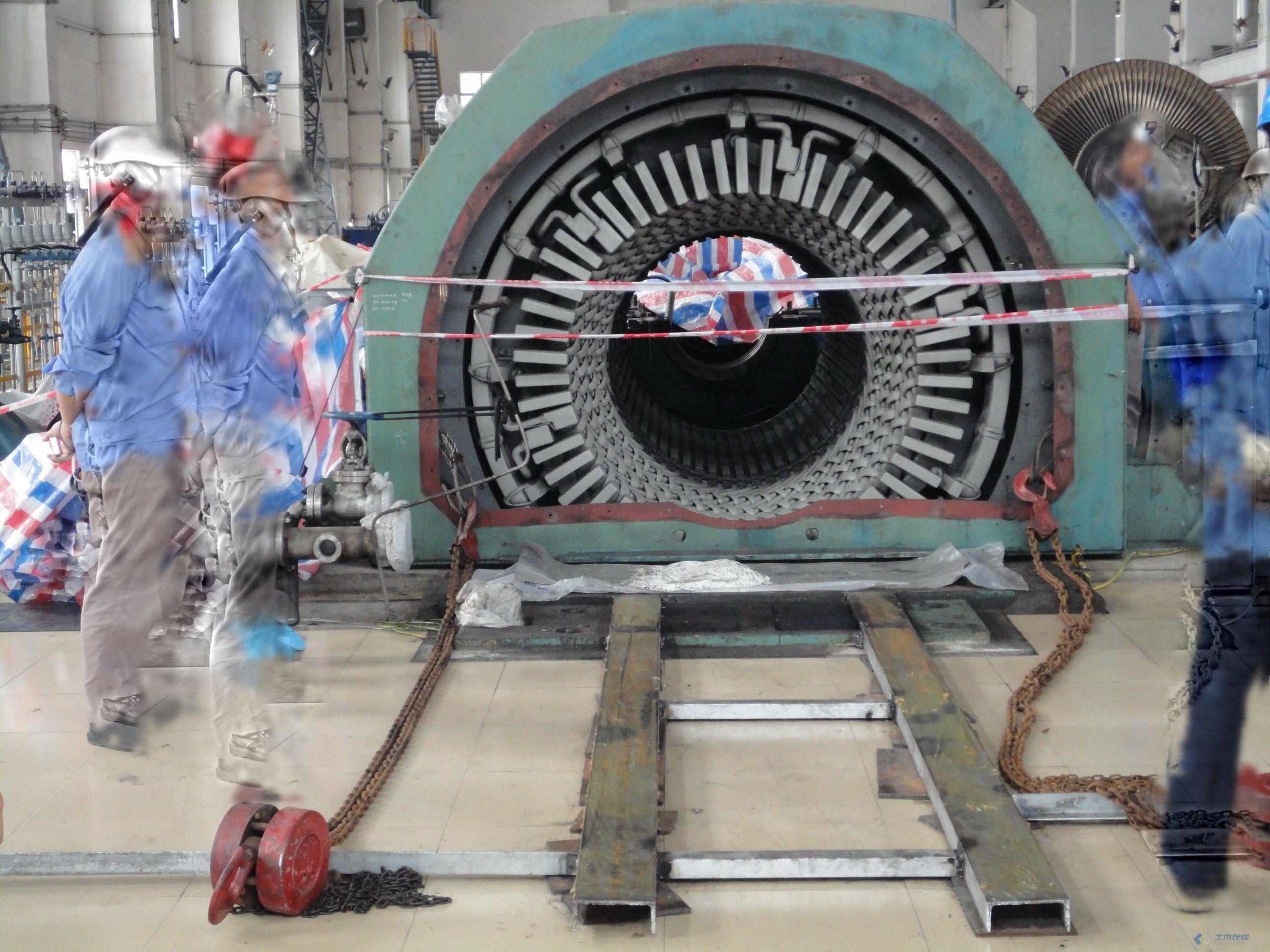 1000mw级汽轮发电机转子端部线圈温升的分析