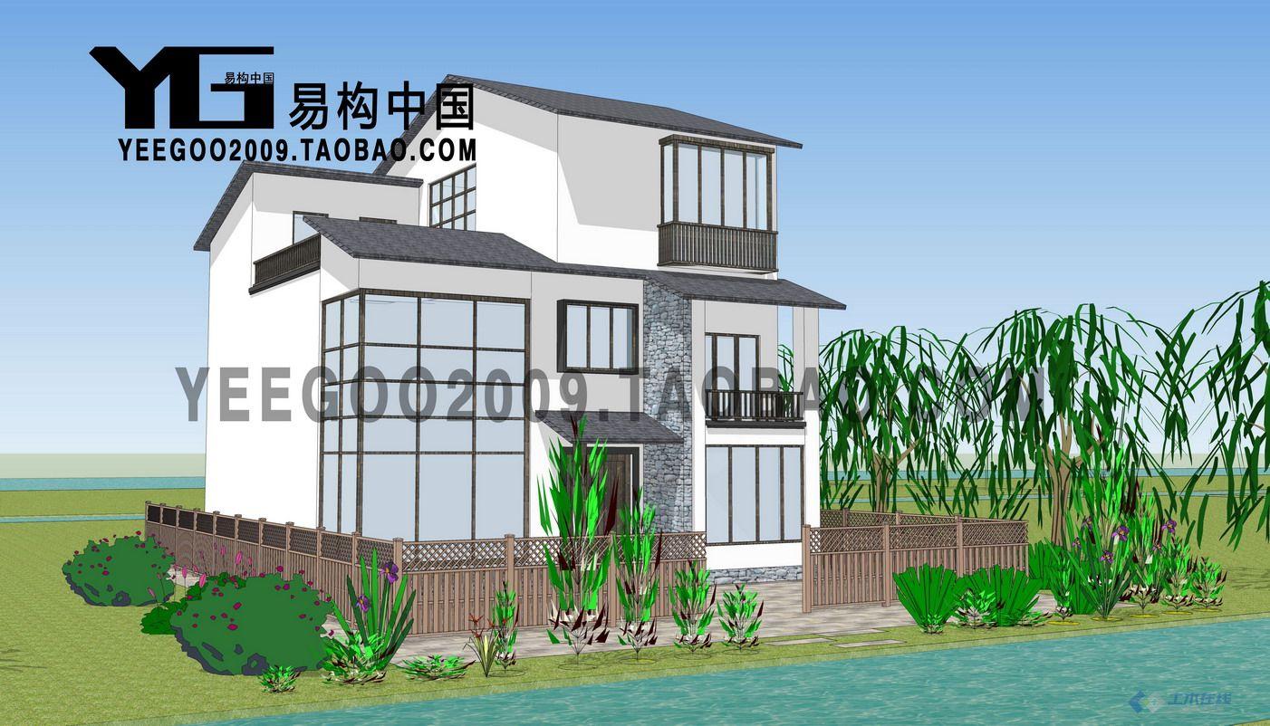 【易構出品】原創農村自建房 別墅外觀設計
